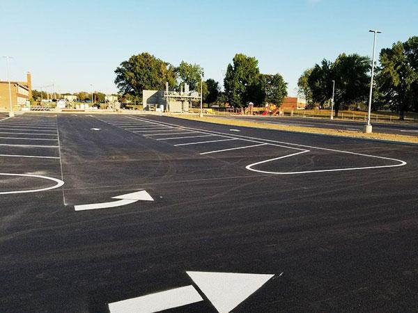 asphalt stripping